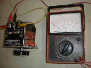 Staco Energy Type Sq1010 Variable Transformer Tests Ok As Shown