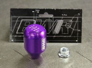 Blackworks Racing 10x1 5 Aluminum 6061 6 Speed Type R Style Shift Knob Purple