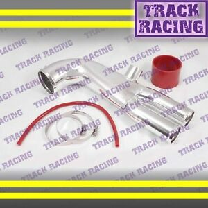 91 99 3000gt Gto Dodge Stealth Vr4 3 0l Twin Turbo Air Intake Y Pipe Red