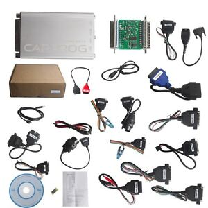 Carprog Full Perfect Firmware V8 21 Software V10 05 With All 21 Adapter