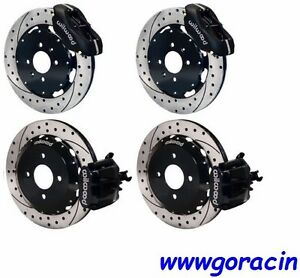 Wilwood Disc Brake Kit 1992 2000 Civic 1990 2001 Acura Integra Drilled Rotors