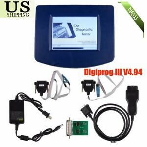 Digiprog Iii V4 94 Digiprog 3 With Obd2 St01 St04 Cable Odometer Correction Tool