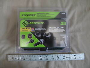 1 New Greenlee Slug Buster Manual Knockout Punch Set 7235bb 1 2 To 1 1 4 Usa