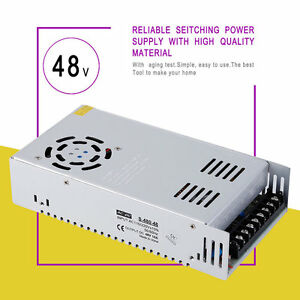 Dc 48v 10a Universal Regulated Switching Power Supply For Computer Project X