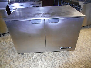 Victory Commercial 2 dr Undercounter Worktop Freezer New Compressor 3 Yr Warr