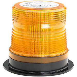 North American Signal Company Quad flash Micro burst Strobe Light W amber Dome