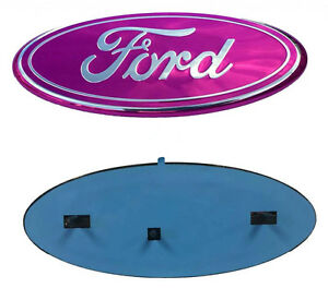 F 9pk New Pink F150 F250 F350 Oval Emblem Front Tailgate 9 Badge For Ford