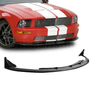 05 09 Ford Mustang V8 Only Coupe Cv3 Style Front Bumper Chin Lip Spoiler