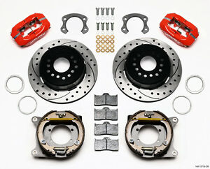 Wilwood Forged Dynalite Rear Parking Brake Kit fits 2005 2013 Ford Mustang
