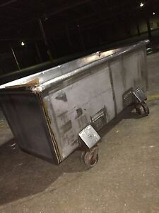 Large Industrial Stainless Steel Cart