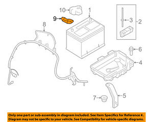 Ford Oem Battery Terminal Bt4z14450ba