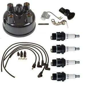 Complete Tune Up Kit For Massey Harris Tractors With Autolite Distributor