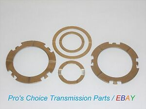 5 Piece Thrust Washer Kit Without Selectives Fits Gm Turbo 400 Th400 Th425 3l80