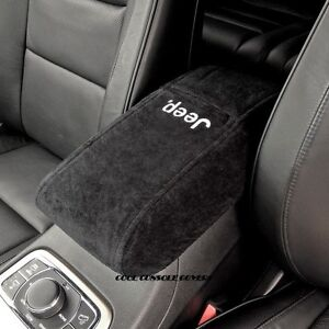 Jeep Grand Cherokee 2011 2020 Black Center Console Cover With Jeep Logo
