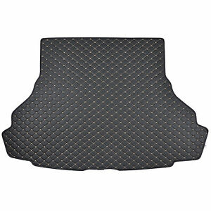 Motor Trend Pu Leather Trunk Mat Cargo Liner For Ford Mustang 2015 2016