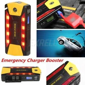 82800mah Car Jump Starter Portable Emergency Charger Booster Power Bank Set Bp