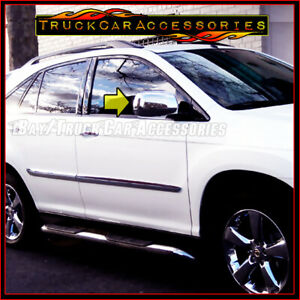 For Lexus Rx330 rx350 2004 2005 2006 2007 2008 2009 Chrome Full Mirror Covers