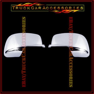 For Dodge Journey 2009 2010 2011 2012 2013 2014 2015 Chrome Mirror Covers Pair