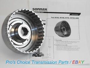 Sonnax Smart Tech Forward Clutch Drum Fits Ford Aode 4r70w 4r75w 4r70e 4r75e