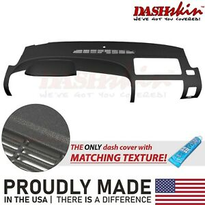 07 13 Silverado Sierra Dual Glovebox Molded Dash Cover Skin Cap Overlay Black