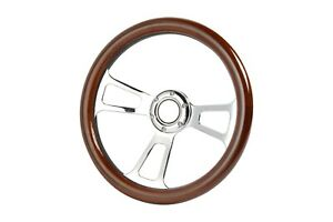 1948 1959 Gmc Pick Up Trucks Vintage Truck Oak Billet Steering Wheel