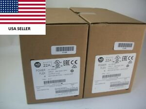 ships Today 2016 Allen Bradley 22a d4p0n104 Power Flex 4 Drive New Sealed 2hp