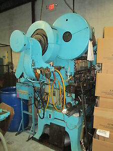 Waterbury Farrel Model 158 Eyelet Press W roller Cam gemtron Monitor