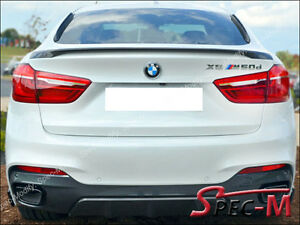 2015 2017 Bmw X6 F16 X6m F86 Suv Performance Style Trunk Spoiler Unpainted New