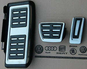 Audi Q2 Sq2 Original Pedals Pedal Caps Cover Pads Footrest For Automatic Cars