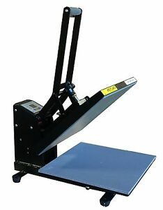 Fancierstudio Power Heat Press 15x15a Blk Digital Sublimation T shirt Heat Pr