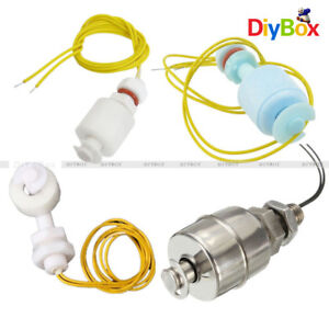 Stainless Steel 45mm Pp 52mm Right Angle Water Level Sensor Ball Float Switch