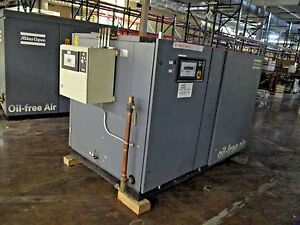 Atlas Copco 78 Hp Air Compressor Zt 55