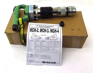 Sullair Pneumatic Chipping Hammer Mch 3 S 680 Round W Screw on Ball Retainer