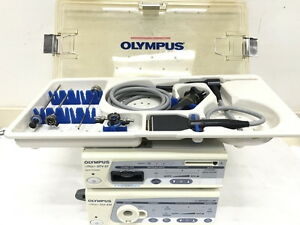 Olympus Arthroscopy System With Otv s7h va And Wa70005a Arthroscope 4mm 30deg