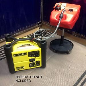 Champion 2000w Inverter Generator 6 Gal Extended Run Fuel System Need Model
