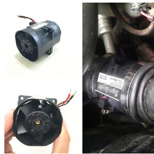 Car Supercharger Electric Turbine Turbo Dual Fan Air Intake Boost 2 7a Fuel Save