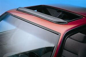 Auto Ventshade 78061 Sunroof Wind Deflector Pop Out Style 34 5 In Wide