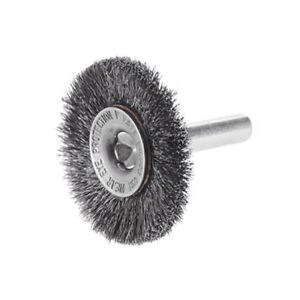 10 Pack 3 Crimp Steel Wire Wheel Brush W 1 4 Shank For Die Grinder Or Drill