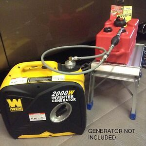 Wen 2000w Inverter Generator 3 Gallon Extended Run Fuel System