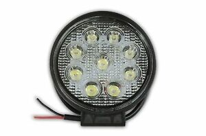 Led 27w High Power Work Light Lamp For Off Road Truck Boat Atv Tractor