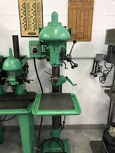 Buffalo No 18 Drill Press 3 Phase 220v 3 4hp