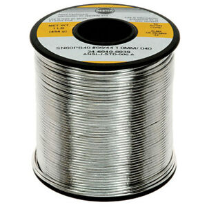Kester 24 6040 0039 1 pound 44 Activated Rosin Cored Wire Solder Roll Sn60 Pb40