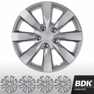 16 Inch Silver Hub Cap Covers For Toyota Camry Wheel Skin Cover 4 Pieces Set