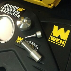 Wen 2000w Inverter Generator Extended Run Gas Cap Oil Fill Drain Plug Combo Kit