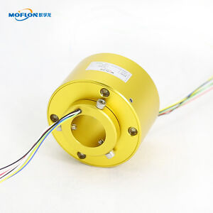 Mt2069 Moflon Slip Ring With Bore Size 20mm 6 Wires 5a Each compact Slip Ring