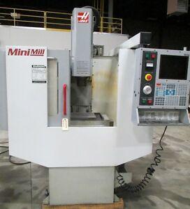 Haas Mini Mill Vertical Machining Center With Haas Control 16 X 12 X 10