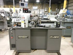 Ganesh Model Ctl 618evs Precision Toolroom Lathe 11 X 18 With Acu rite Dro