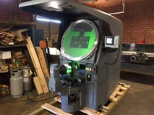 Jones Lamson Mo Fc 30 Optical Comparator Measuring Machine W 5x Lens System