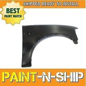 New Fits 2000 2001 2002 Ford Expedition Right Fender Painted Fo1241192