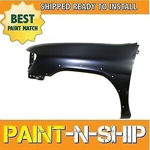 New Fits 2000 Nissan Pathfinder W O Side Guard Left Fender Painted Ni1240174